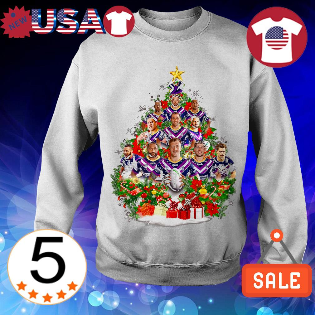 Christmas Trees Melbourne: Melbourne Storm Team Players Christmas Tree Shirt, Sweater