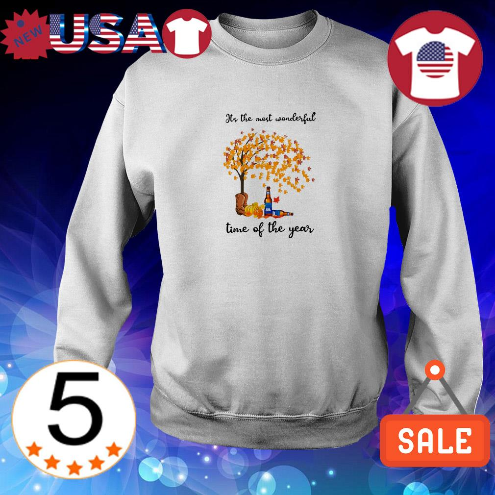 Bud Light Autumn it's the most wonderful time of year shirt