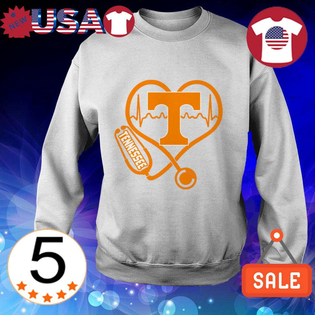 Stethoscope Tennessee Volunteers shirt