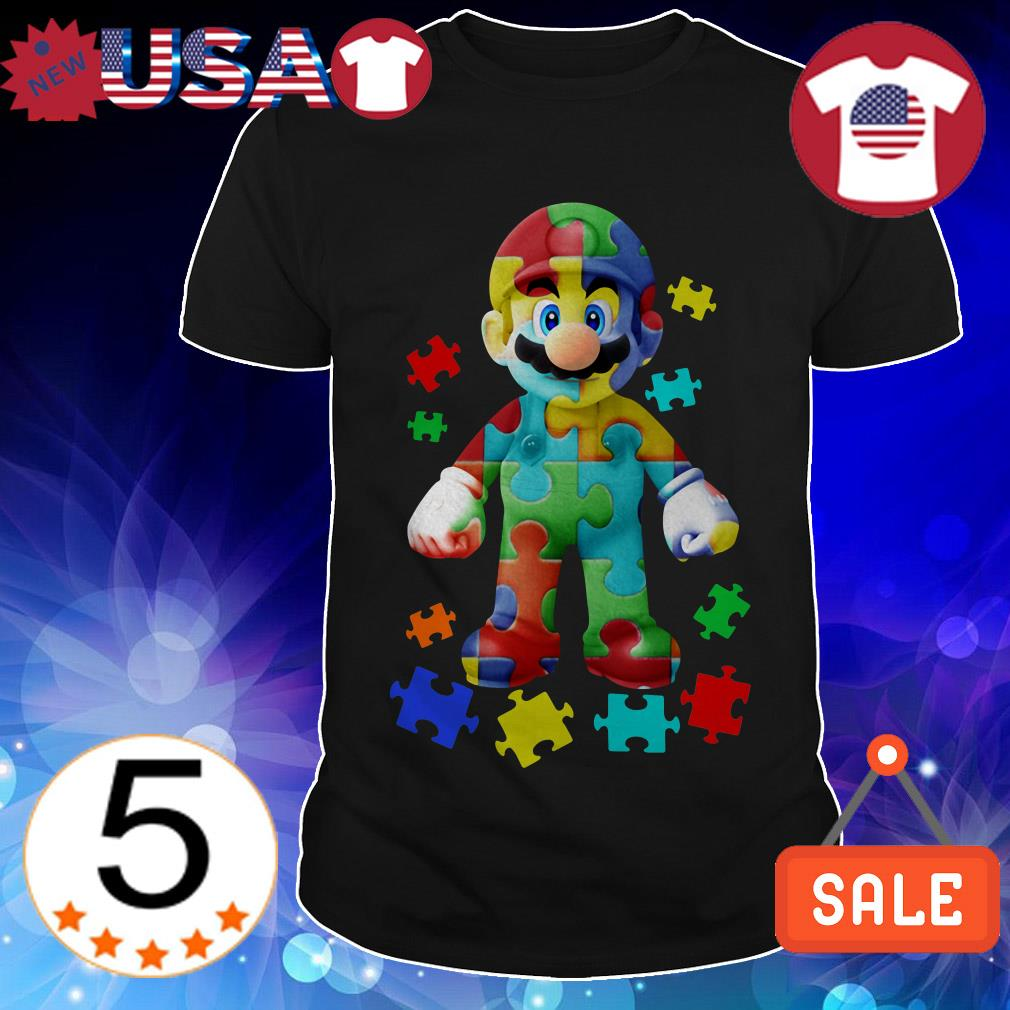 Mario Autism Awareness shirt