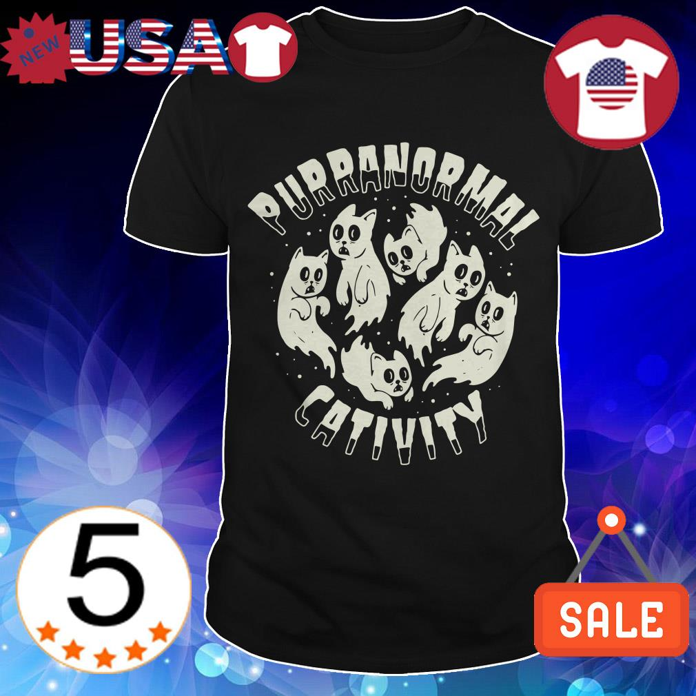Purranormal Cativity Cats shirt