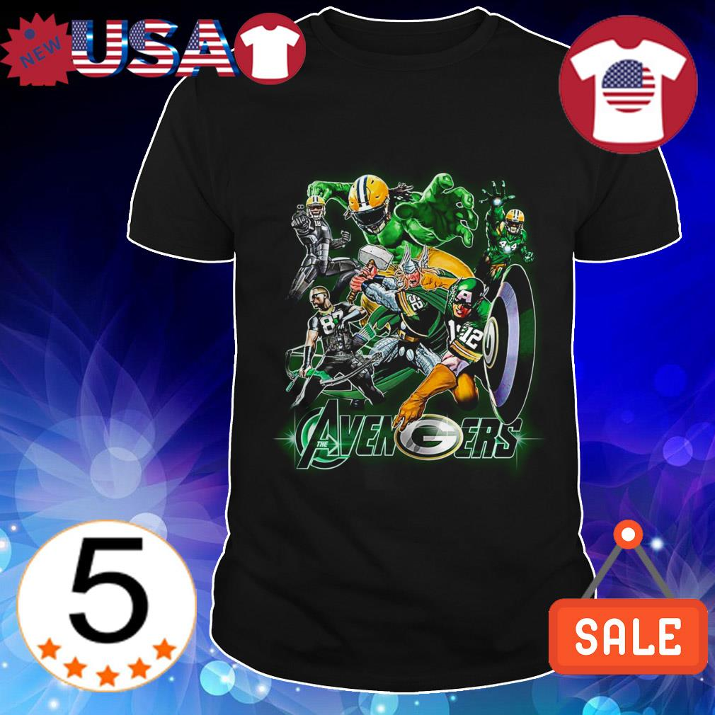 Green Bay Packers Marvel Avengers shirt