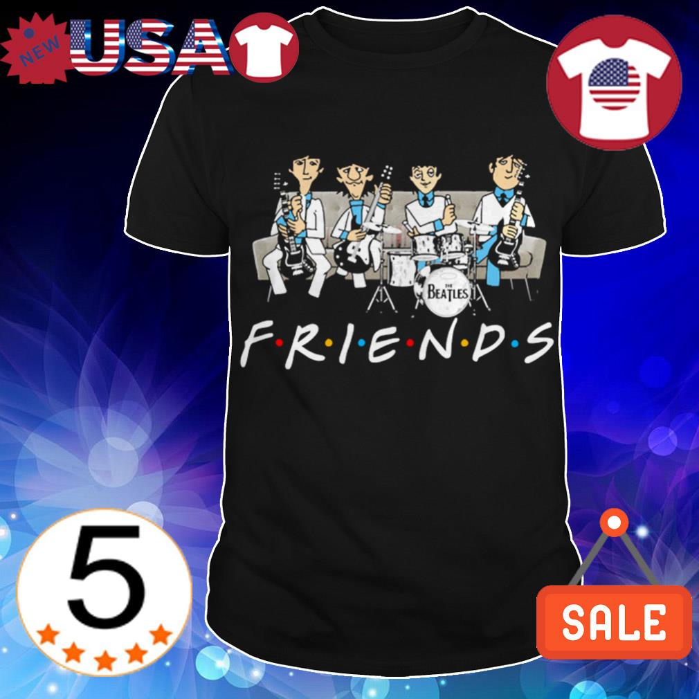 The Beatles Friends TV Show shirt