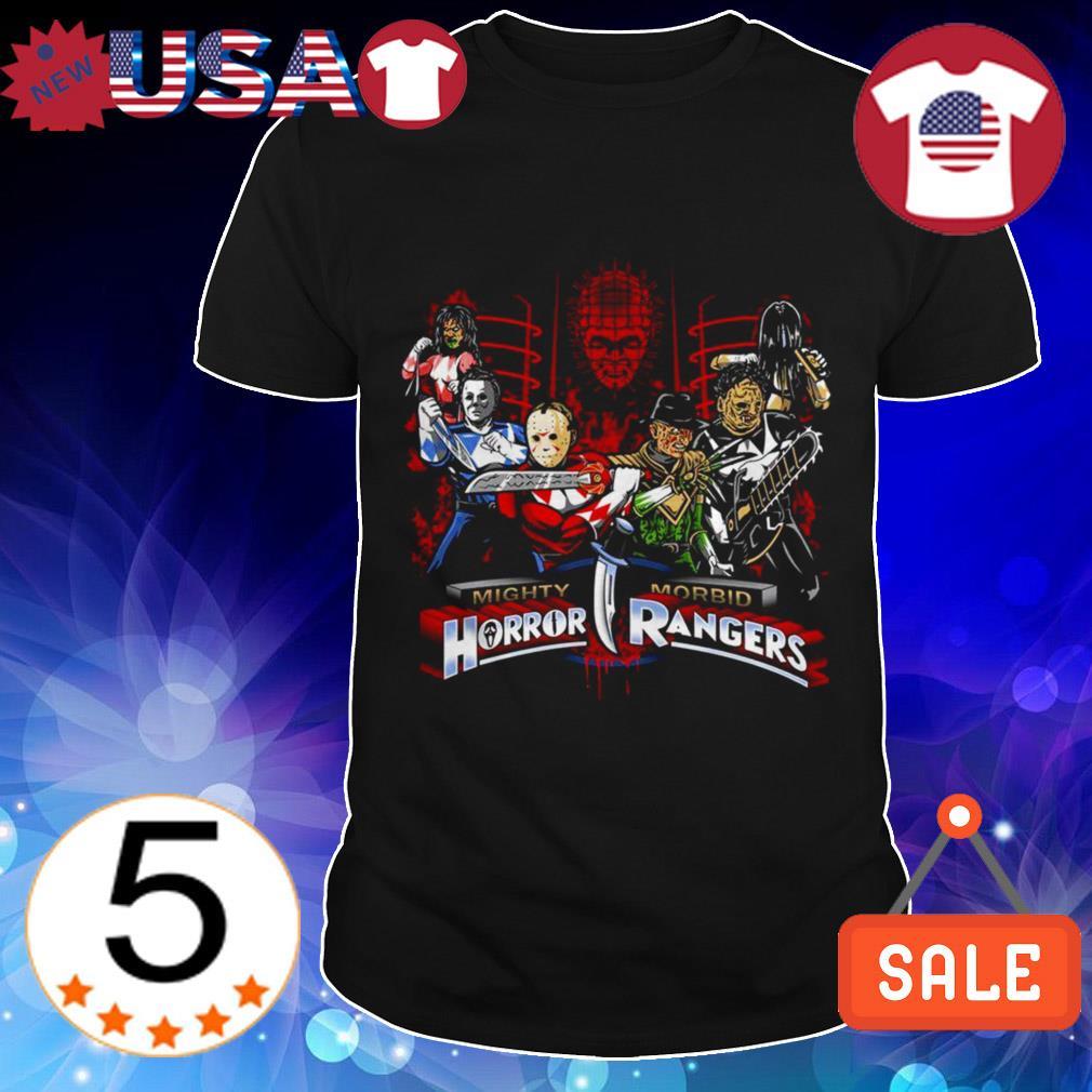 Mighty Morbid Horror Rangers Horror characters movies shirt