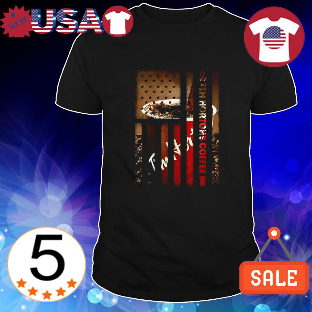 4th Of July independence day Tim Hortons Coffee shirt