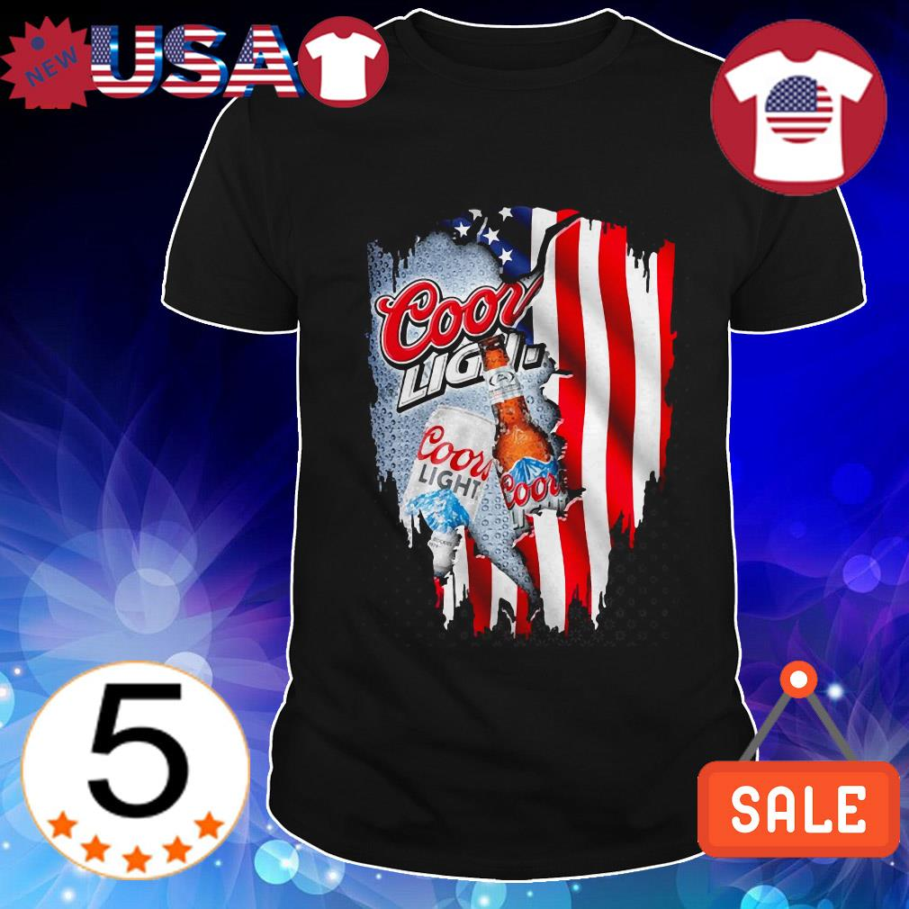 4th Of July independence day Coors Light shirt