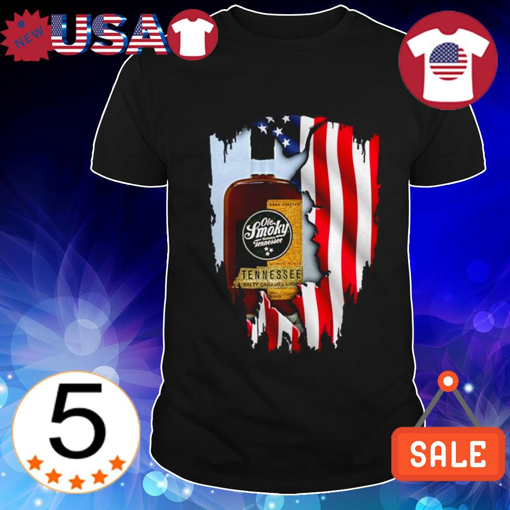 4th Of July independence day Ole Smoky Salted Caramel Whiskey shirt