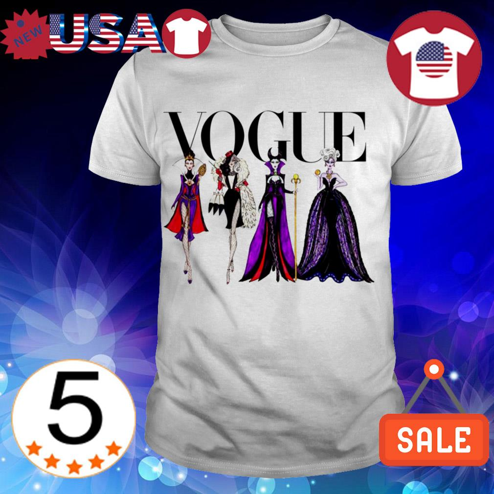 Vogue Disney Villains shirt