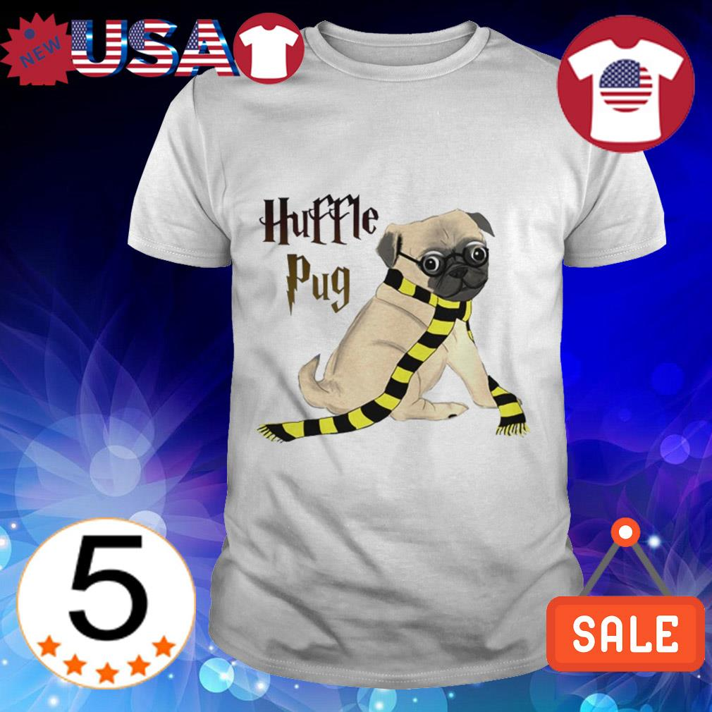 Harry Potter Huffle Pug dog shirt
