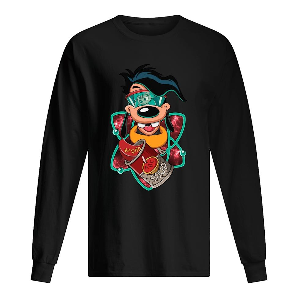 Goofy Max Goof Hi Dad Abc Soup shirt