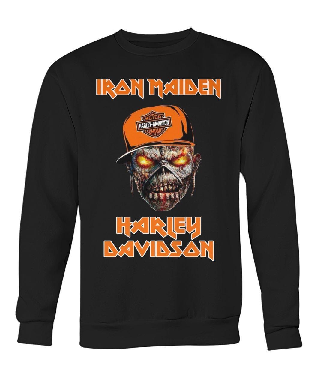 Iron Maiden Harley Davidson Skull shirt