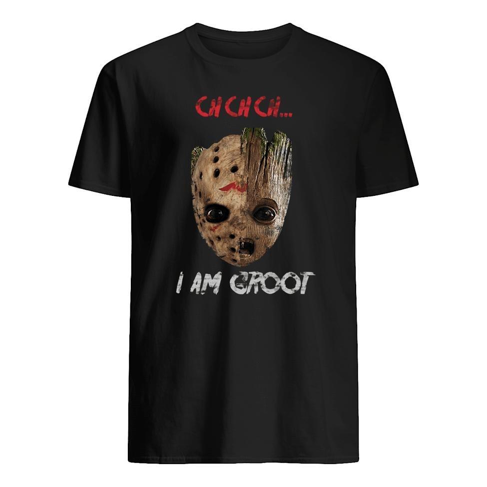 Jason Voorhees Groot Ch Ch Ch I am groot shirt
