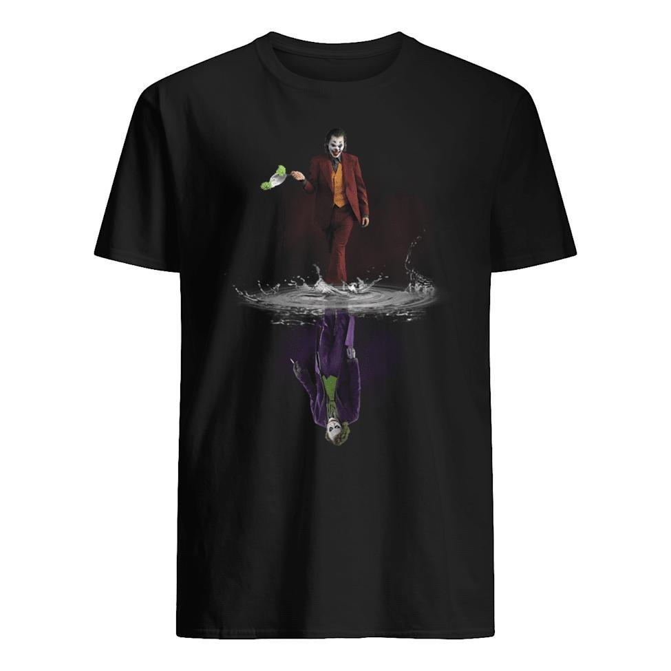 Joker mirror water reflection shirt