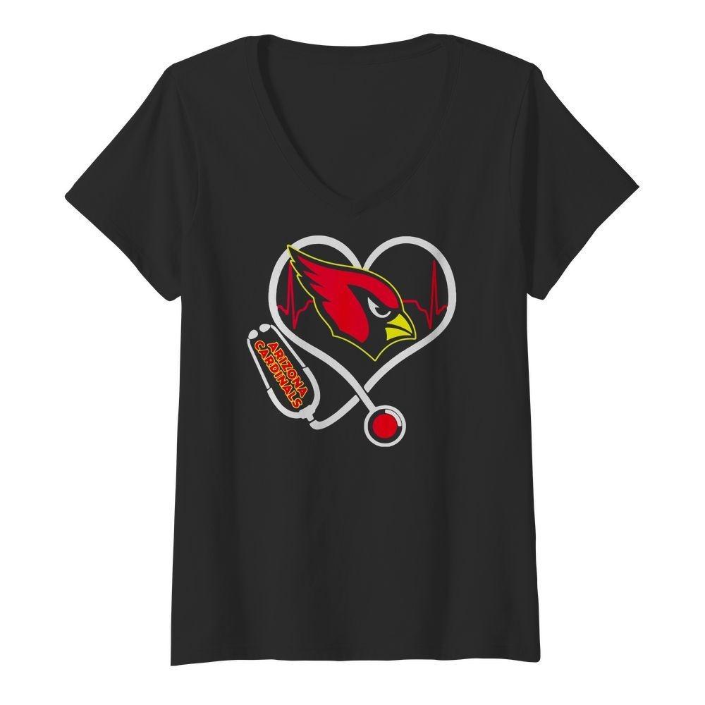 Nurse heartbeat Arizona Cardinals shirt