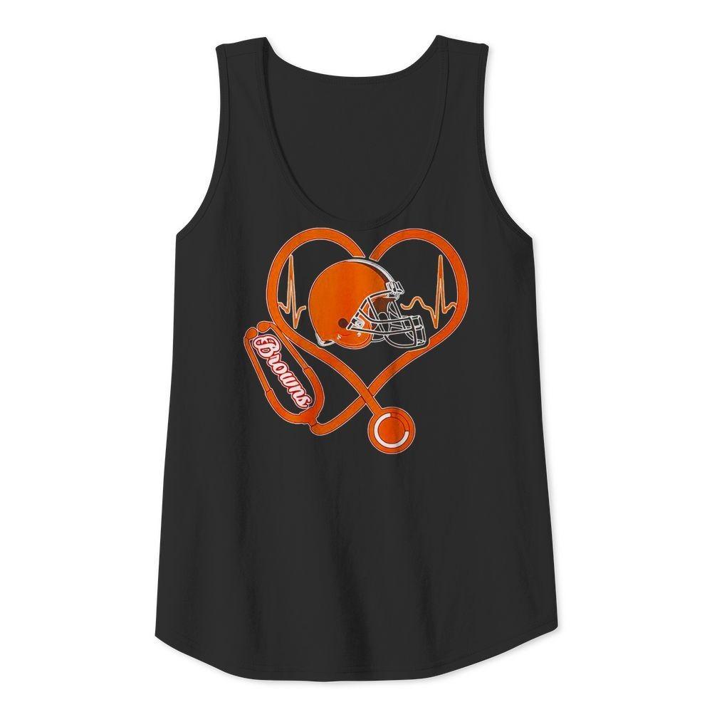 Nurse heartbeat Cleveland Browns shirt