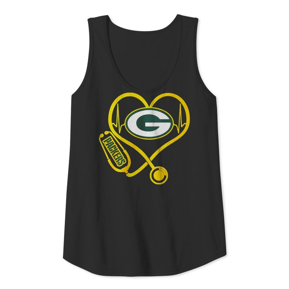 Nurse heartbeat Green Bay Packers shirt