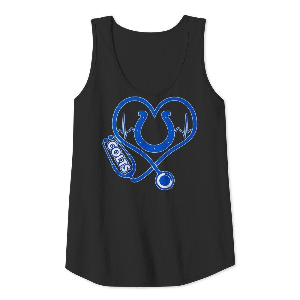 Nurse heartbeat Indianapolis Colts shirt