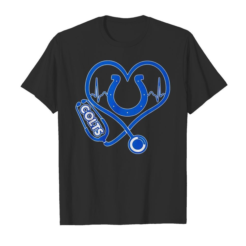 Nurse heartbeat Indianapolis Colts shirt