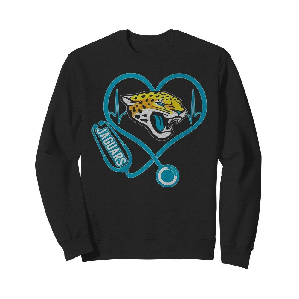 Nurse heartbeat Jacksonville Jaguars shirt