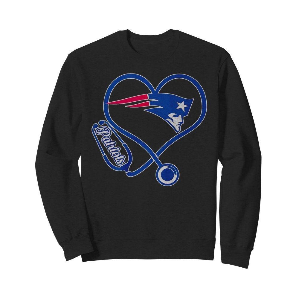 Nurse heartbeat New England Patriots shirt