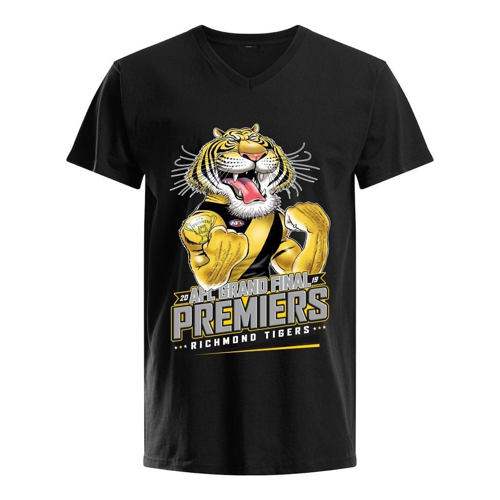 Official AFL grand final 2019 premiers Richmond Tigers shirt
