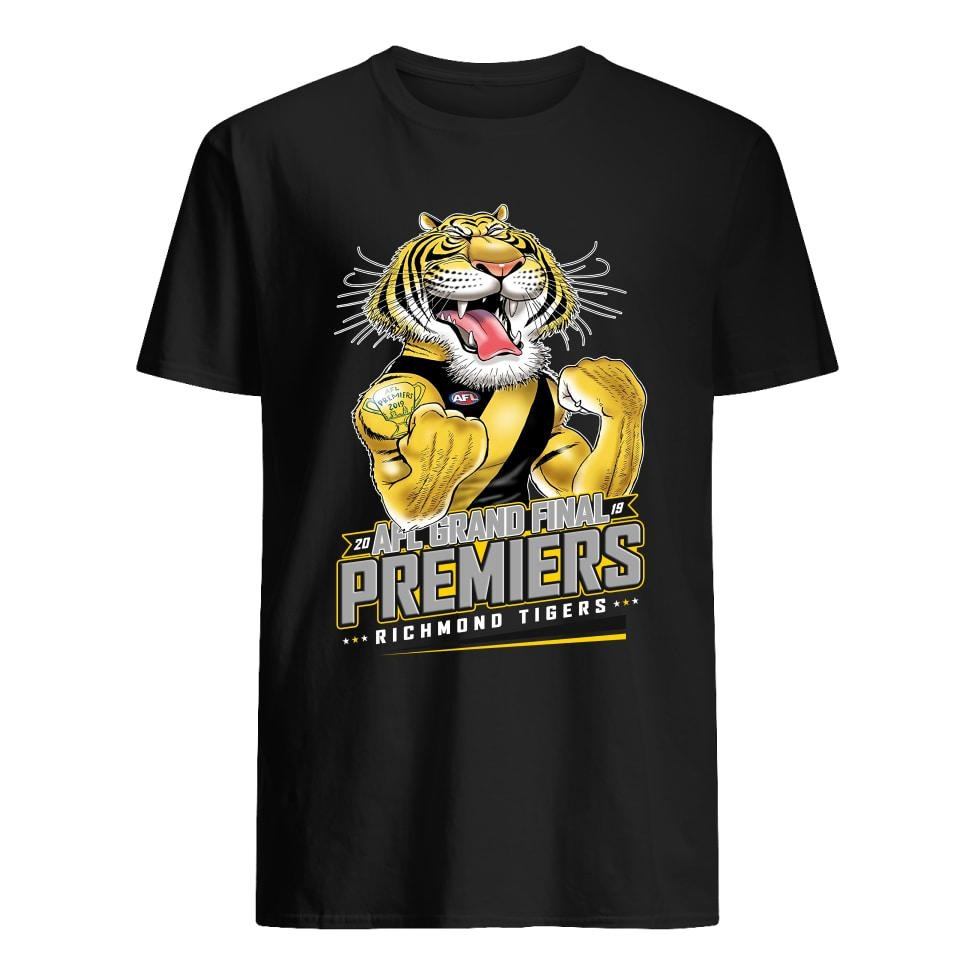Official AFL grand final 2019 premiers Richmond Tigers shirt