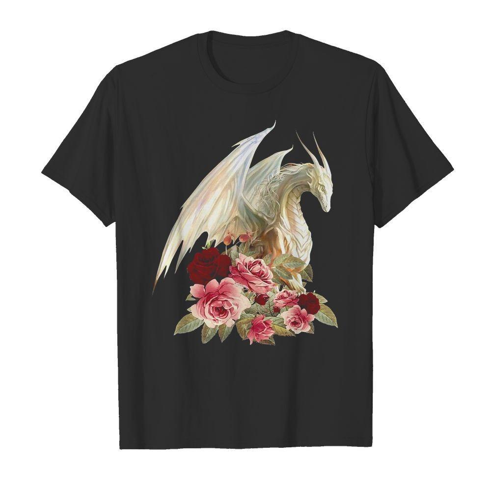 White Dragon floral shirt