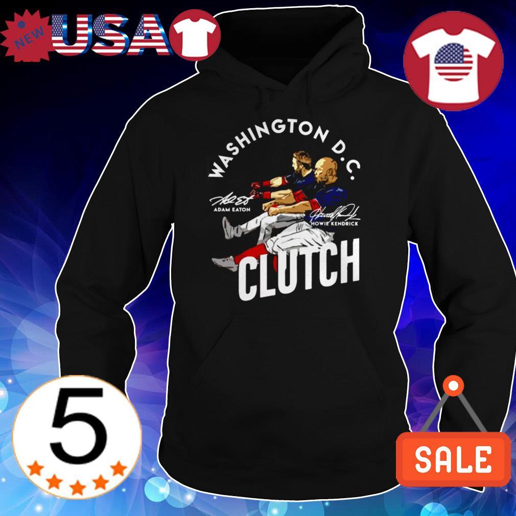 Adam Eaton Howie Kendrick Washington DC Clutch signature shirt