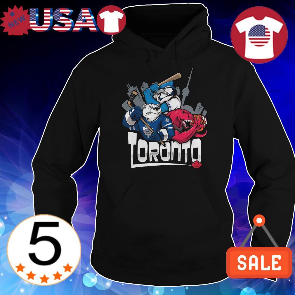 Toronto city animals logo teams sports shirt
