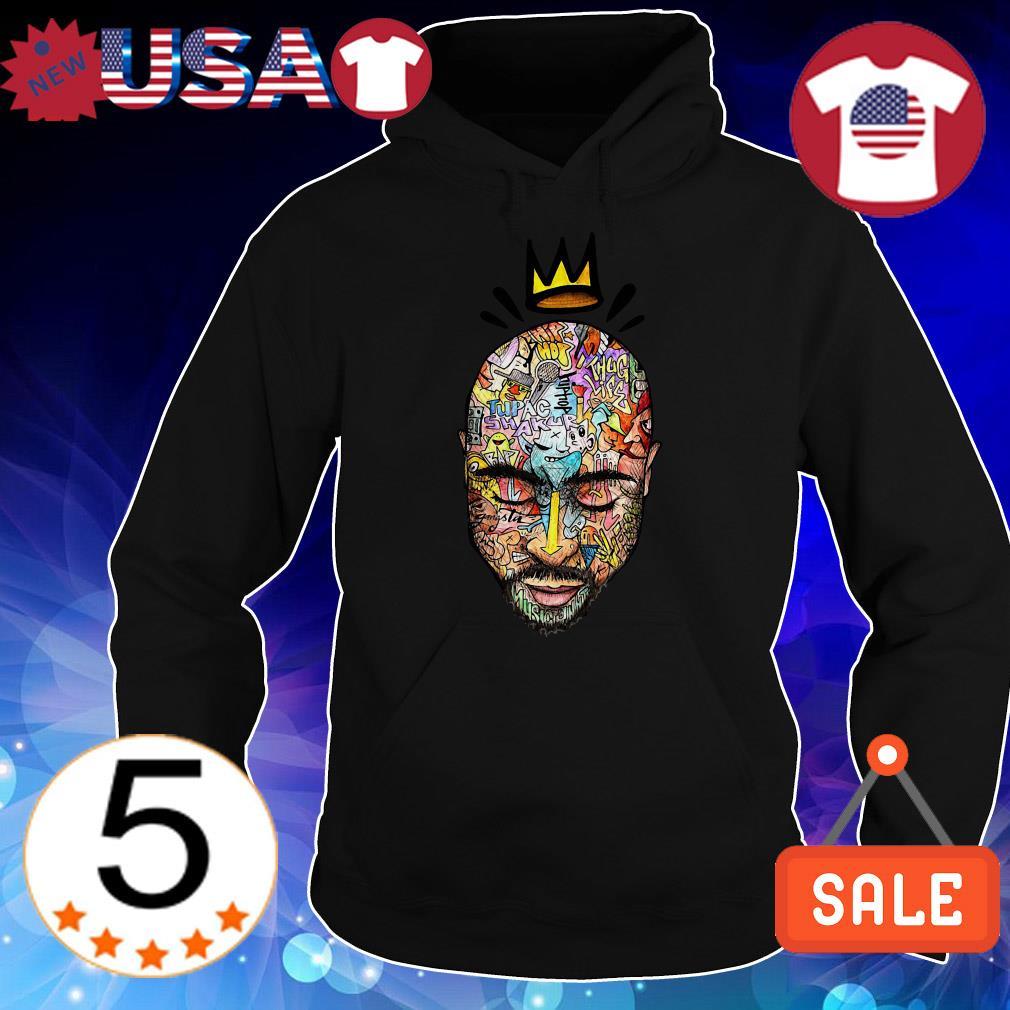 Tupac Shakur crown art shirt