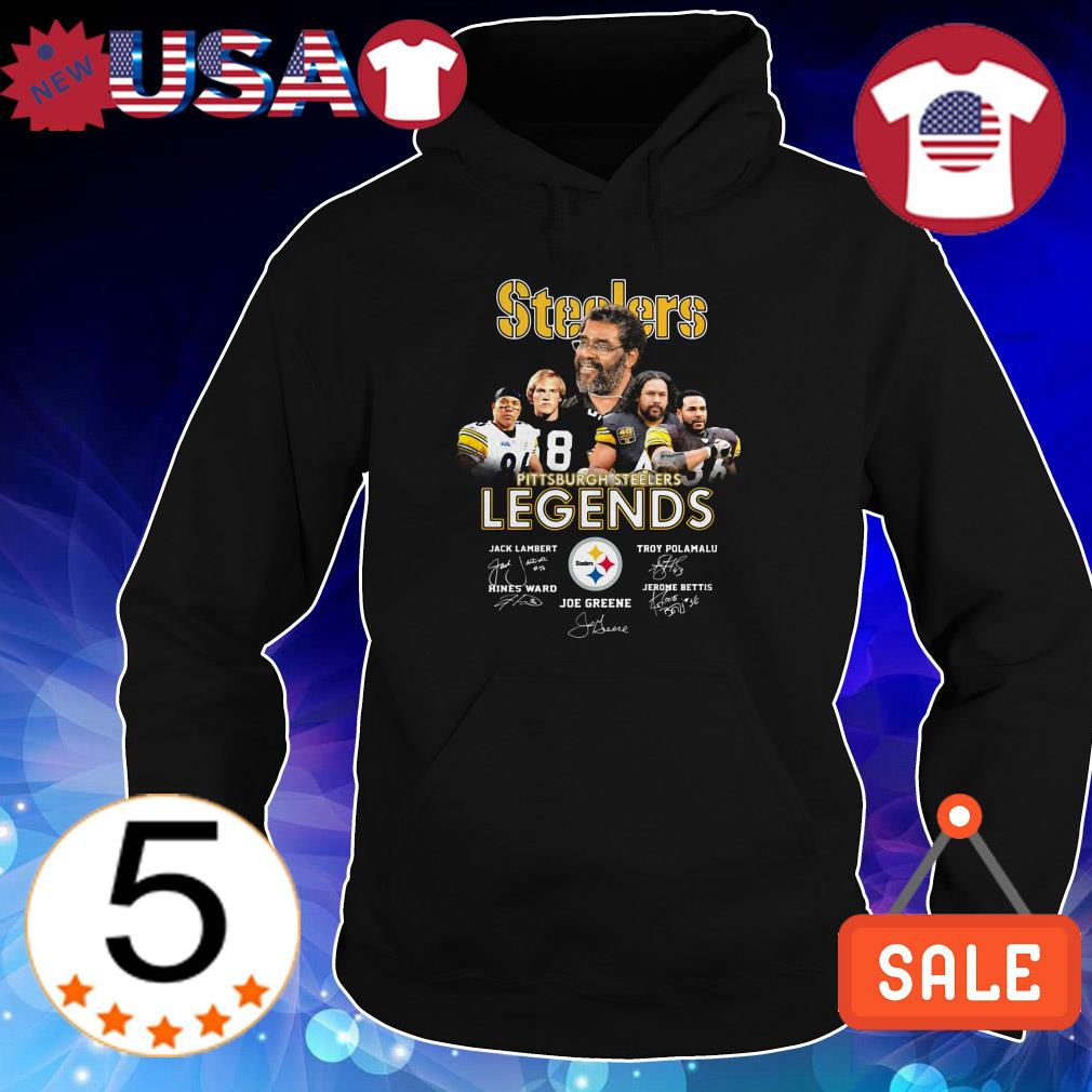 Pittsburgh Steelers Legends team players signature shirt