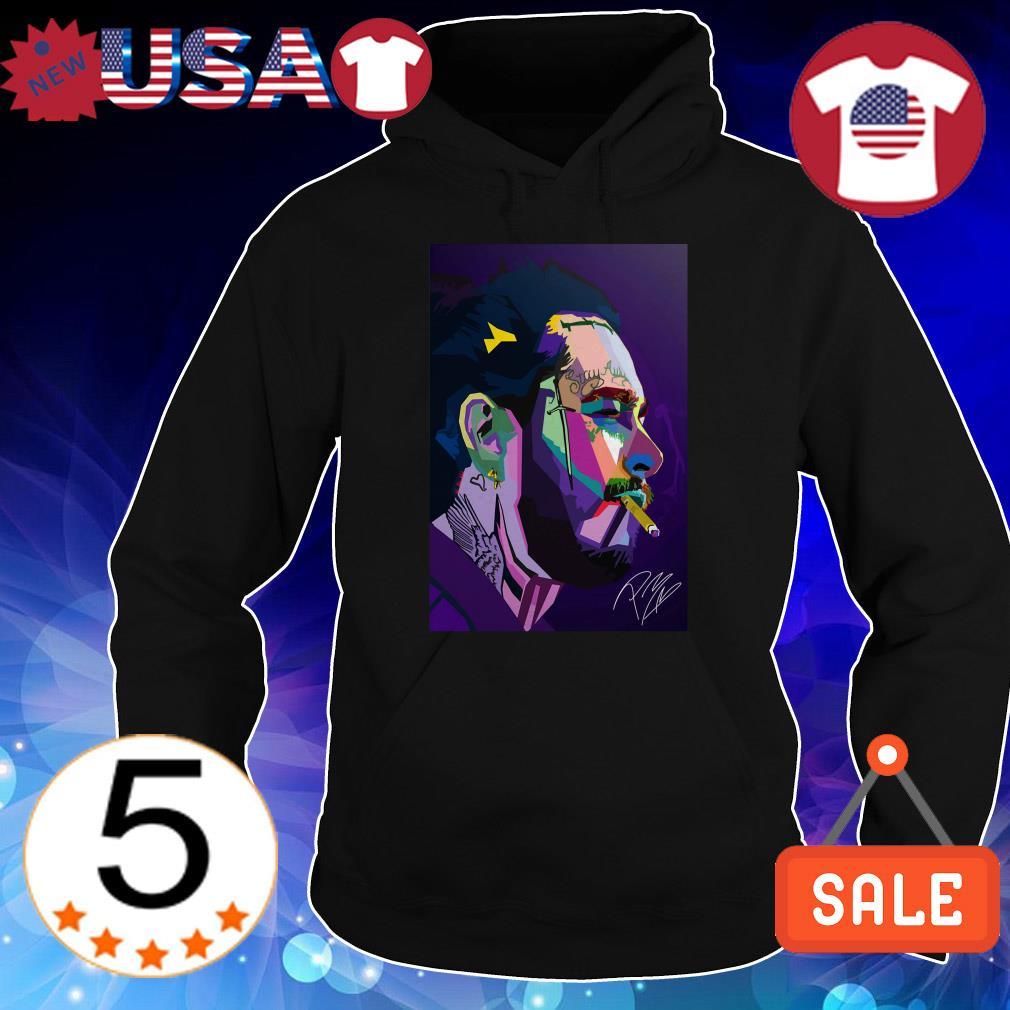 Post Malone signature art shirt