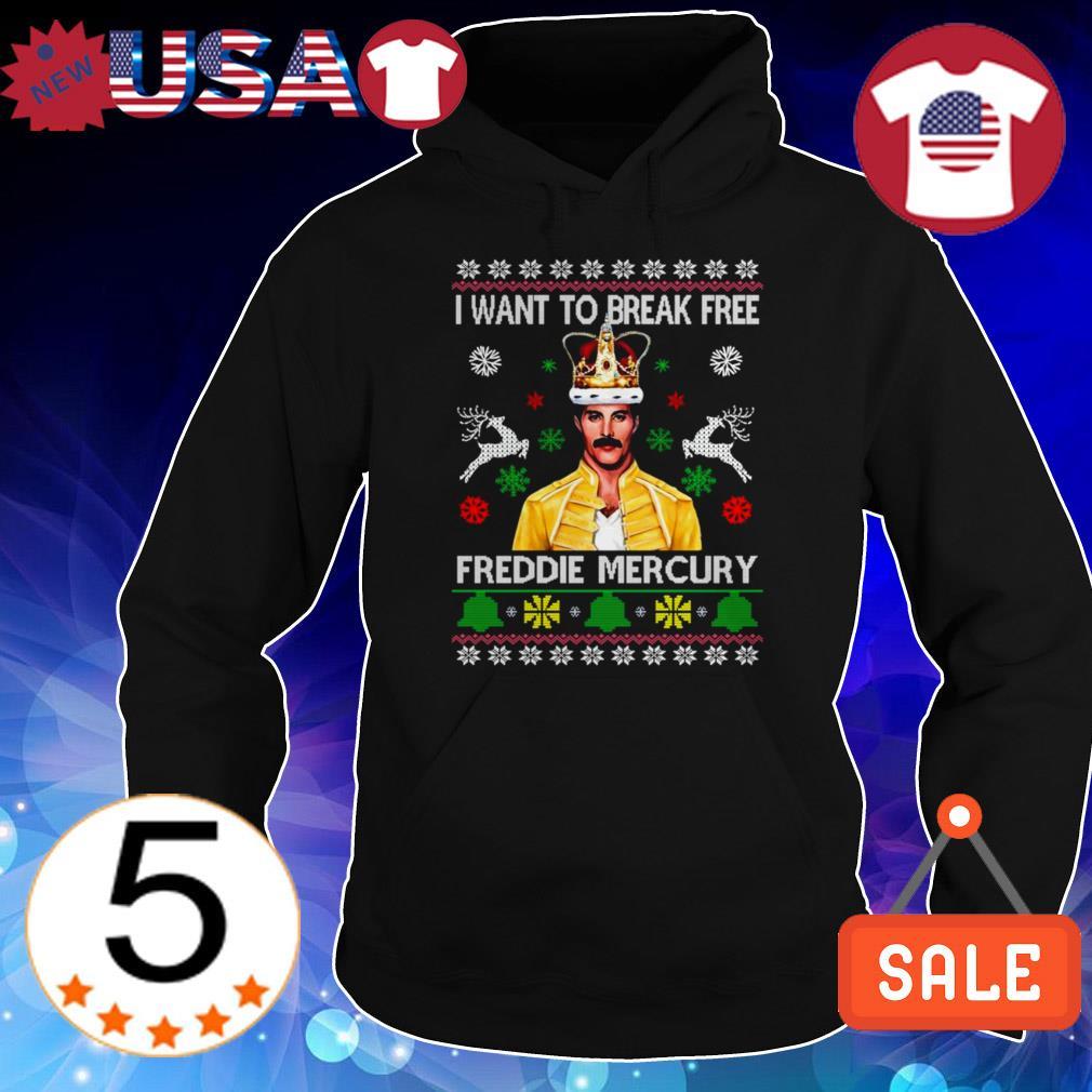 Freddie Mercury i want to break free Christmas sweater