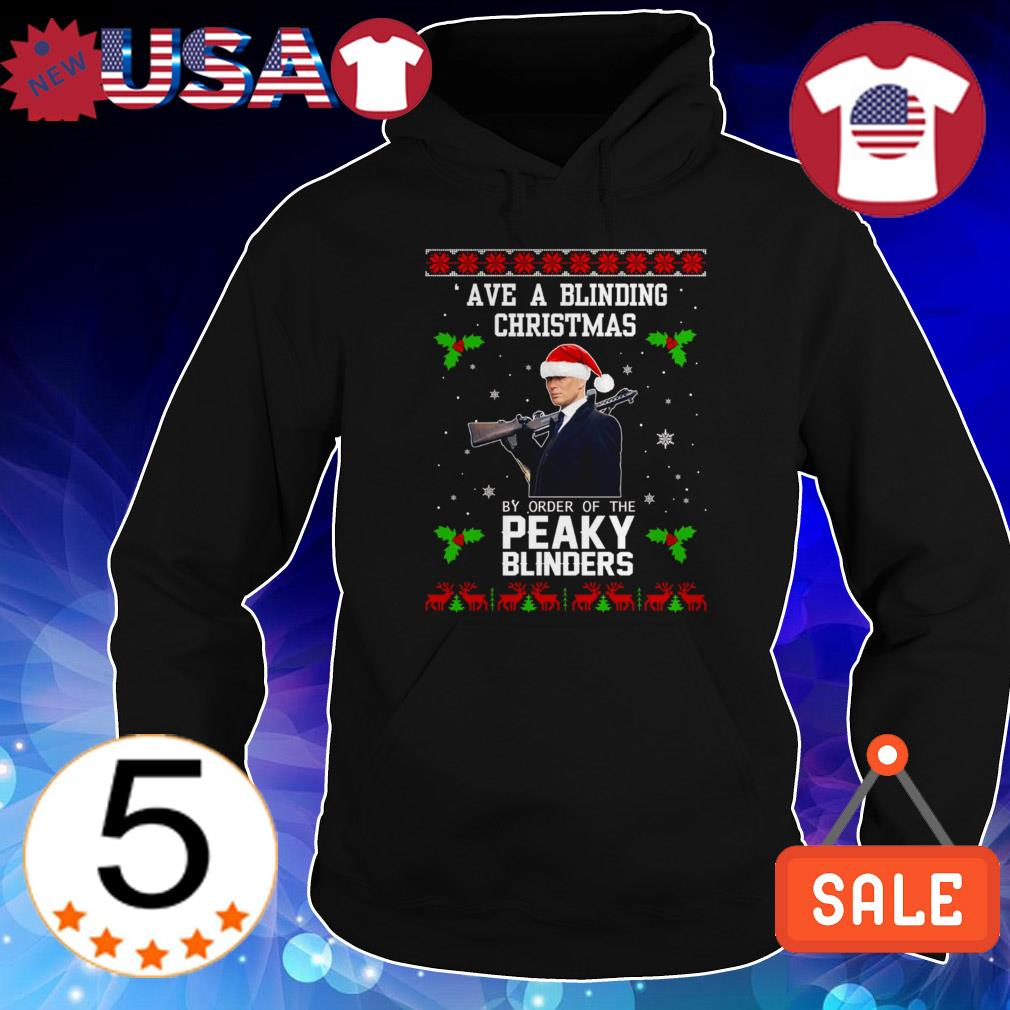 Ave a blinding Christmas by order of the Peaky Blinders sweater