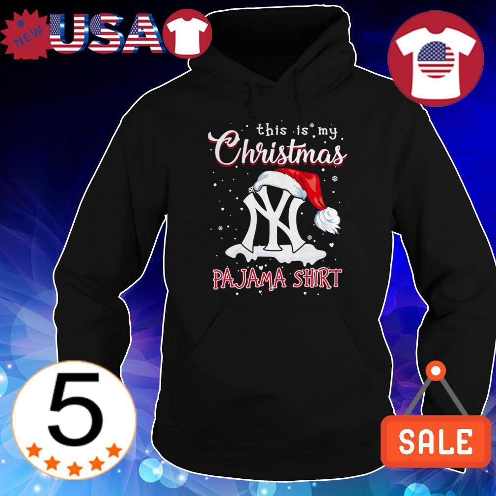 New York Yankees this is my Christmas Pajama shirt sweater