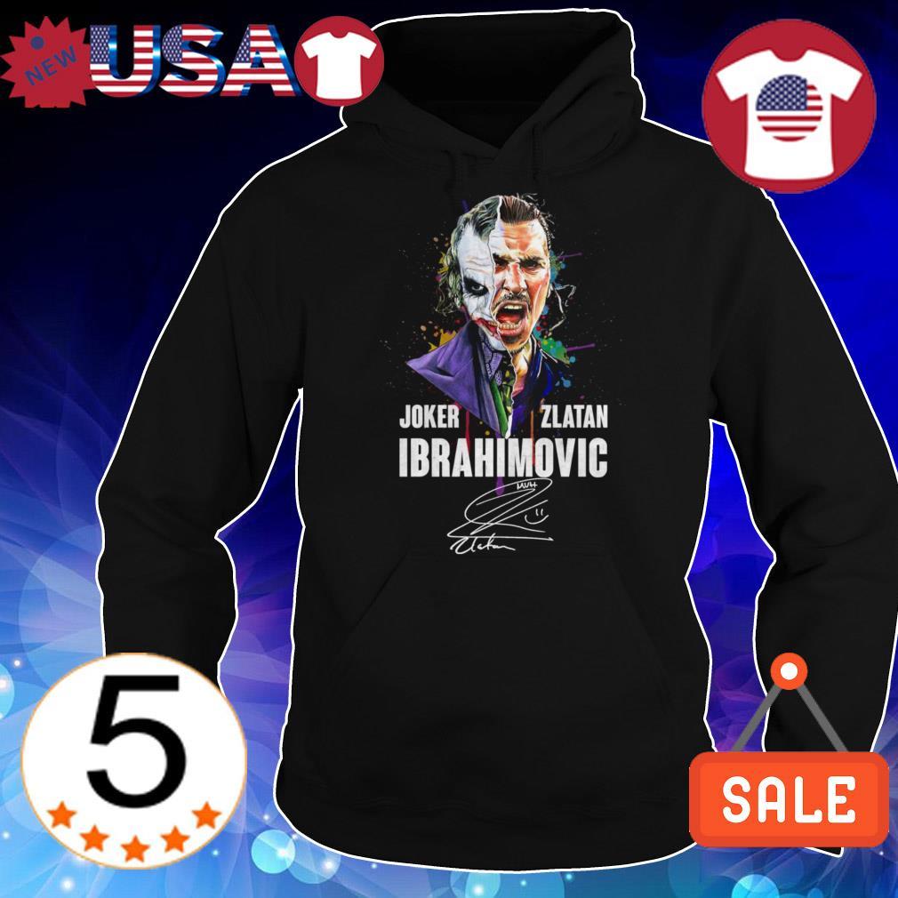 Joker Zlatan Ibrahimovic signature shirt