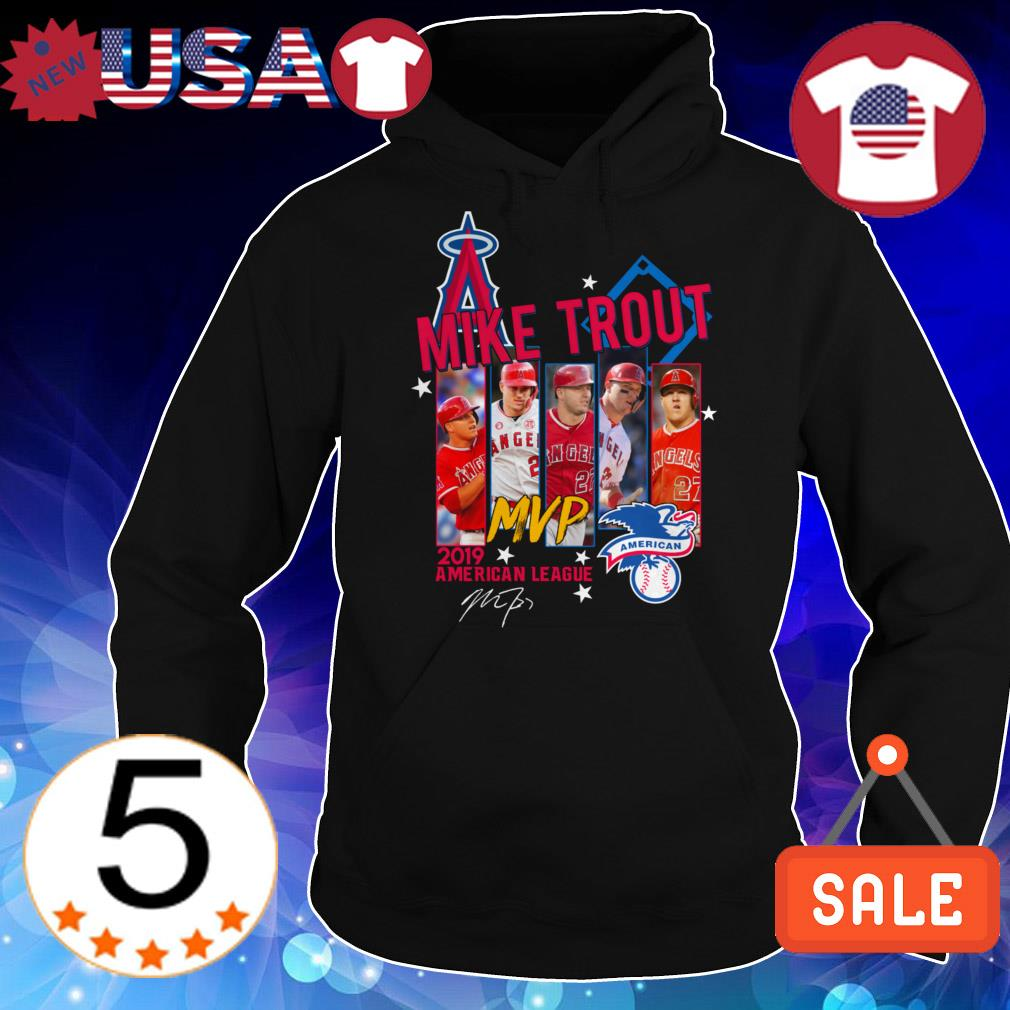 Los Angeles Angels of Anaheim Mike Trout MVP 2019 American League signature shirt