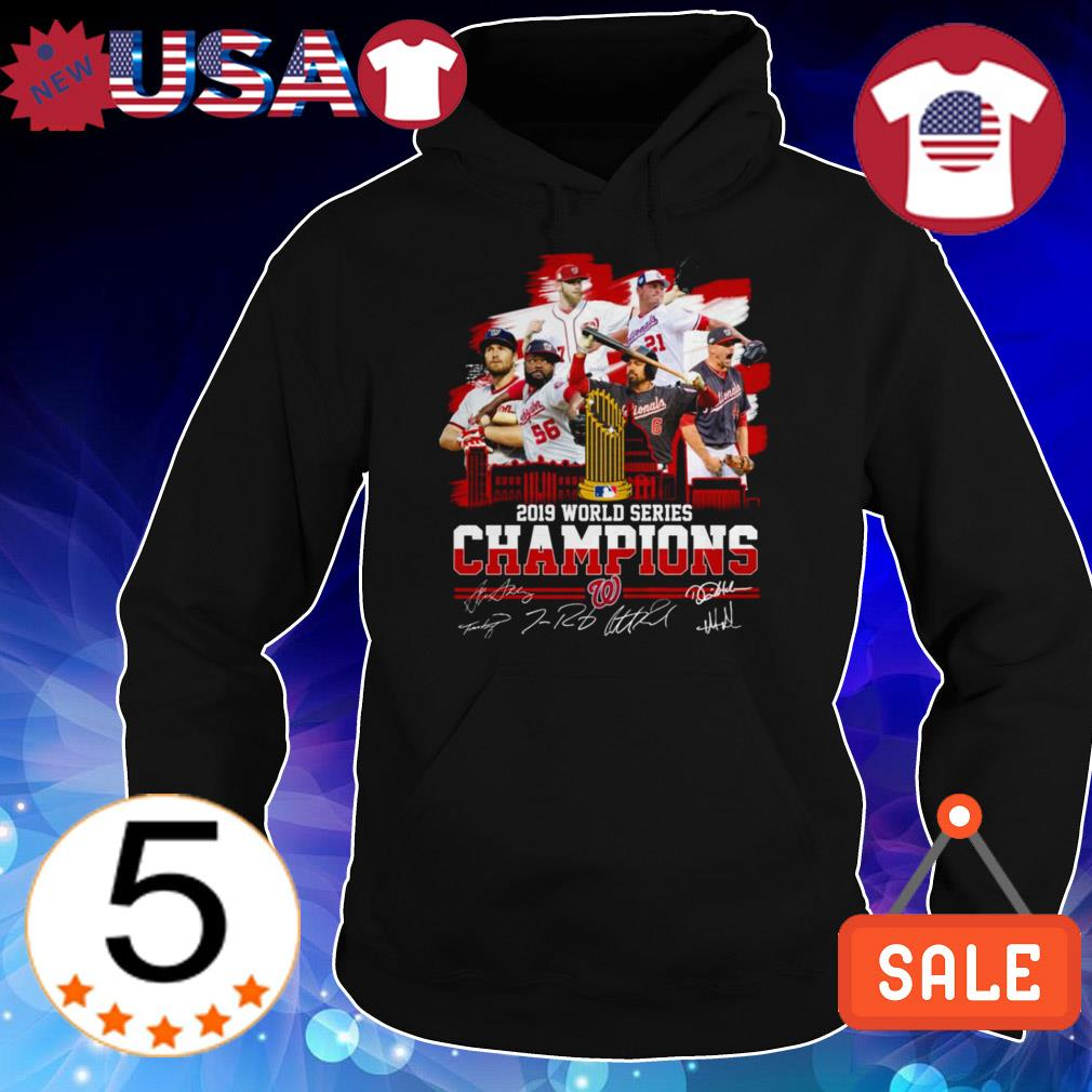Washington Nationals World Series 2019 Champions Signature shirt