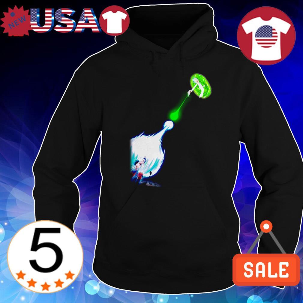 Goku Kamehameha Rick Sanchez shirt