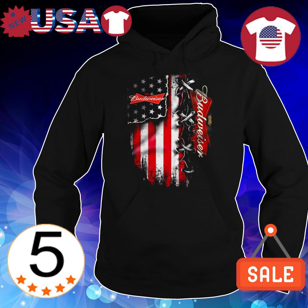 Budweiser beer American flag Independence Day 4th Of July shirt