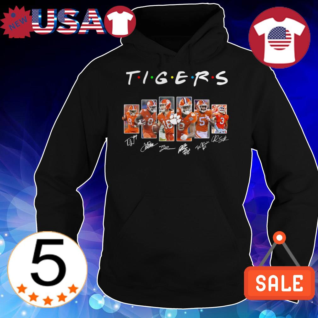 Clemson Tigers Friends TV Show signature shirt