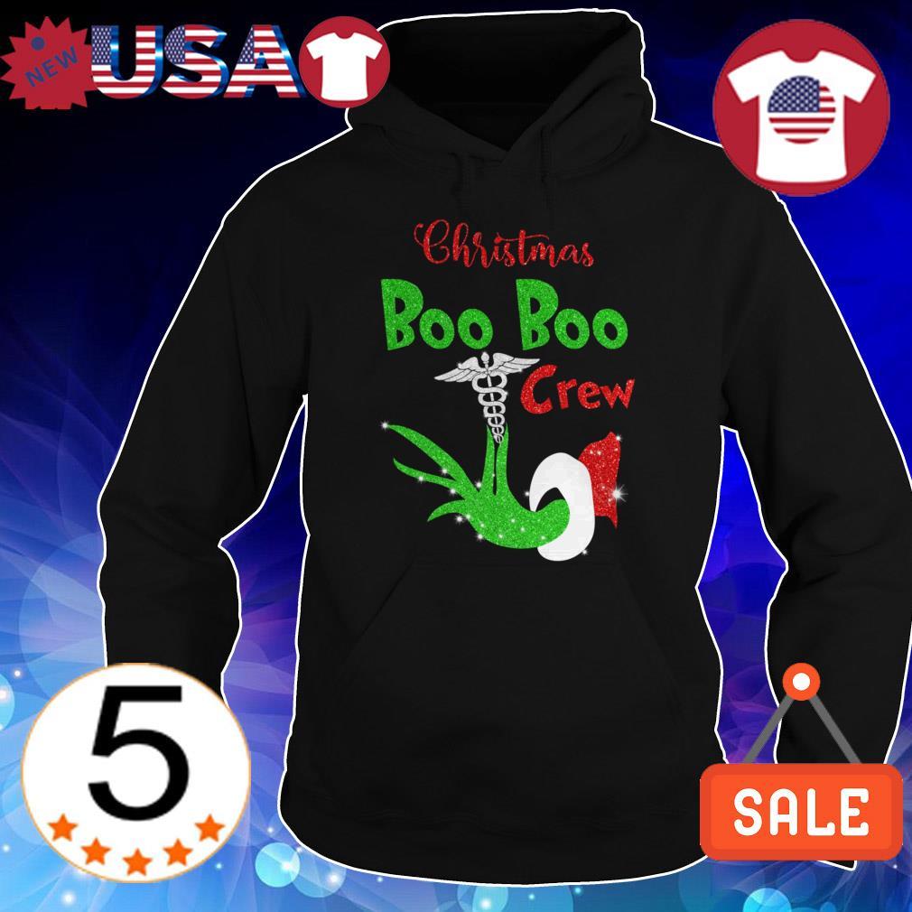 Grinch Christmas boo boo crew diamonds sweater