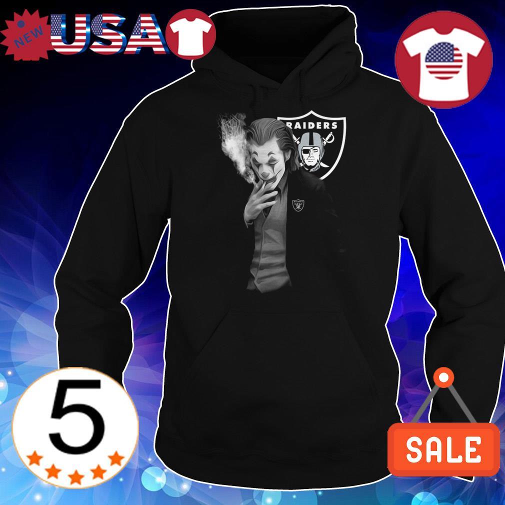 Joaquin Phoenix Oakland Raiders Joker shirt