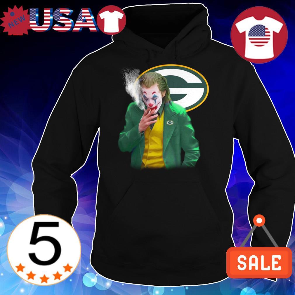 Joker Joaquin Phoenix Green Bay Packers shirt