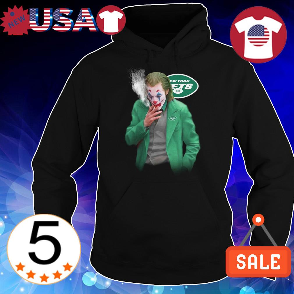 Joker Joaquin Phoenix New York Jets shirt