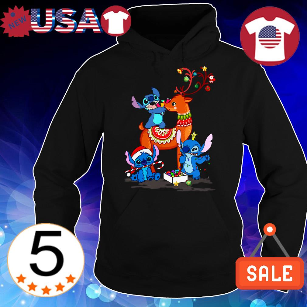 Disney Stitch Christmas sweater