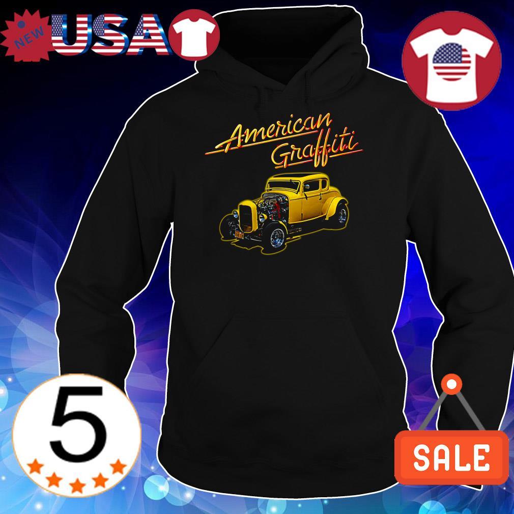 American graffiti car shirt