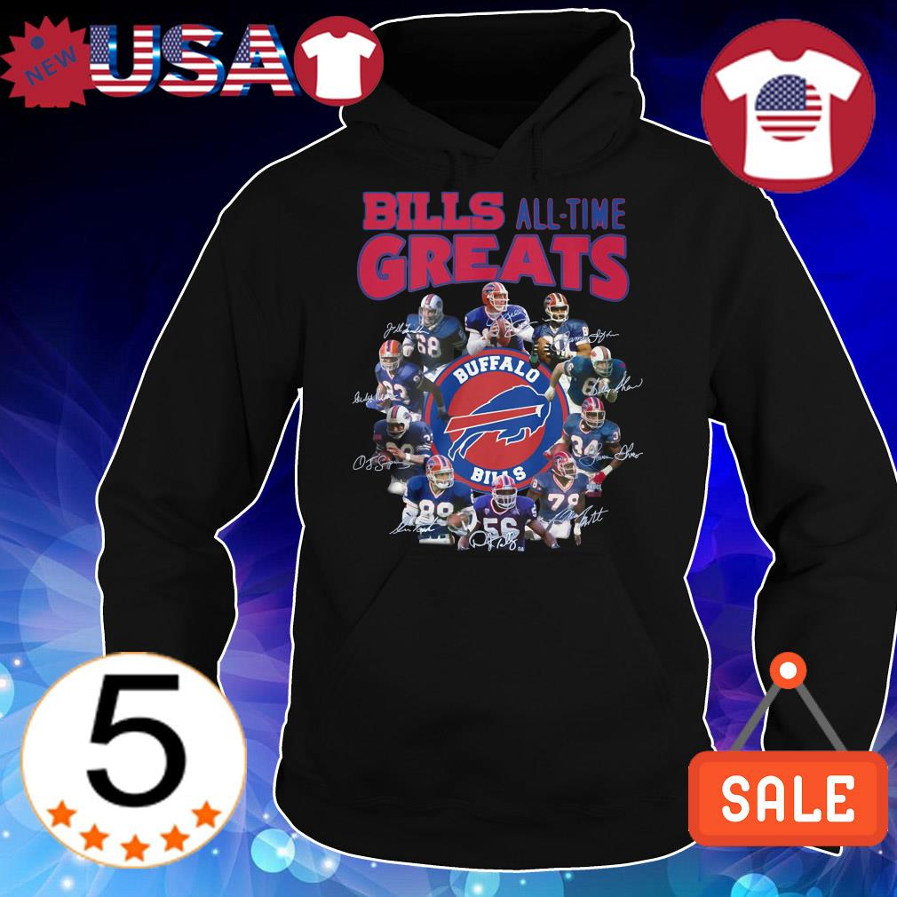 Buffalo Bills all team greats all players signature shirt