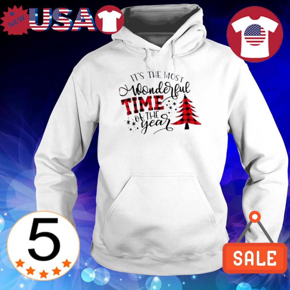Pine Christmas It's the most wonderful time of the year sweater