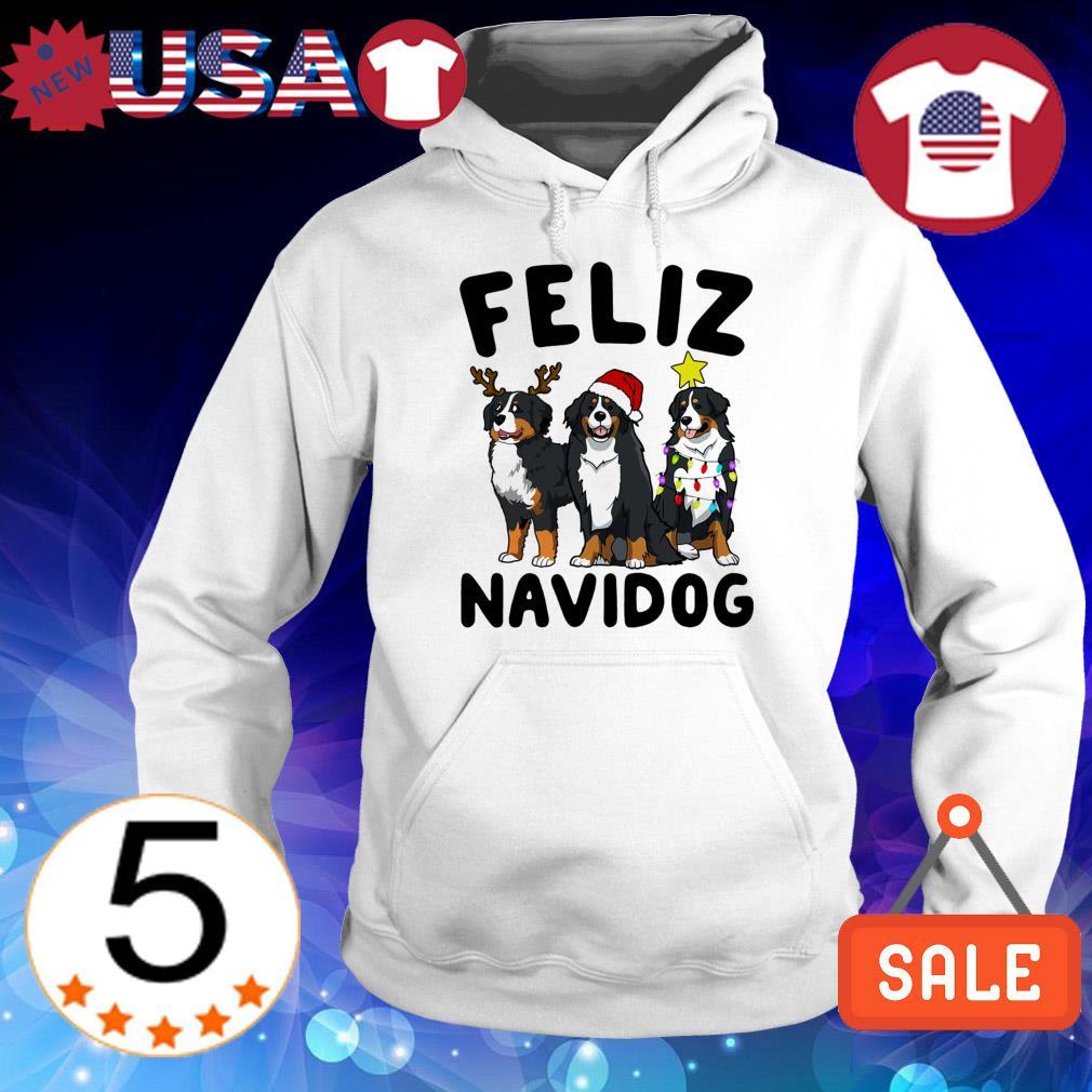 Feliz Navidog Bernese Mountain Dog Crewneck Christmas sweater